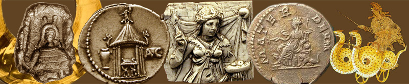 celtic, roman, greek priestesses and goddesses