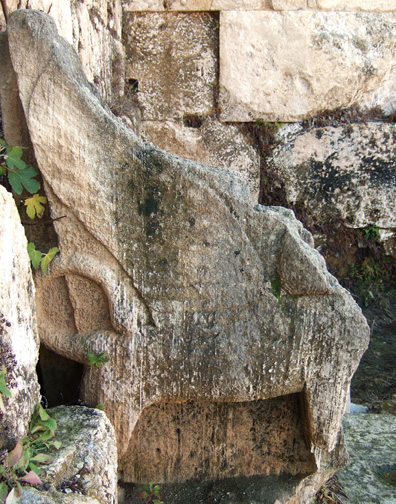 Throne of 'Ashtart, Eshmun Temple, Sidon