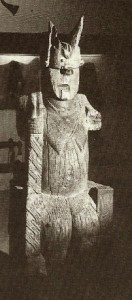 Sacred image of a goddess or ancestor