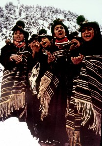 Kalasha women celebrating a festival